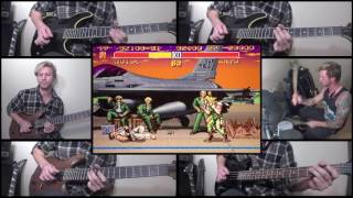 Street Fighter II - Guile's Theme [Guitar/Drum Cover]