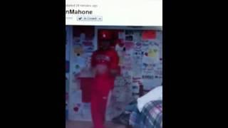 Austin Mahone dancing to Yeah 3x - Ustream