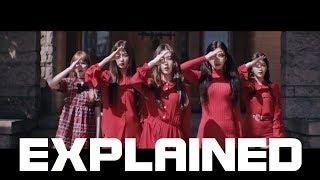 (EXPLAINED) Red Velvet - Peek-A-Boo MV