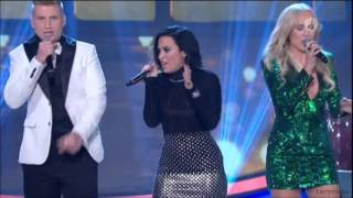 Demi Lovato - Ain't No Mountain High Enough (Diana Ross cover) @ Swedish Idol 2015