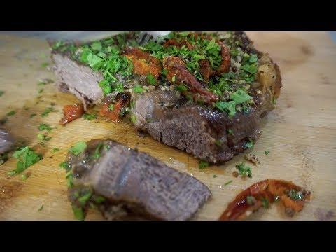 Как правильно готовить вкусный и сочный говяжий стейк photo