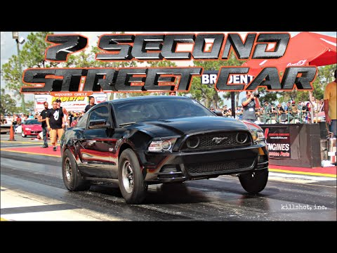 NIGHTTMARE COYOTE MUSTANG RUNS 7's - STREET CAR 7.9@171