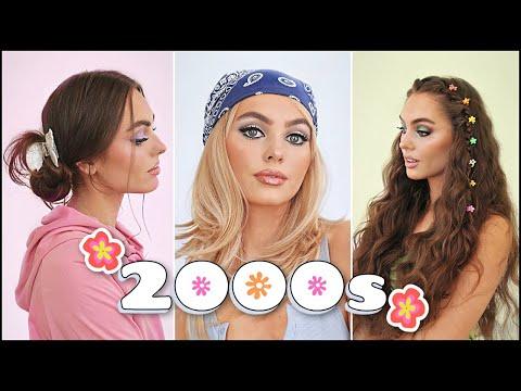 y2k hairstyles 2021💖 early 2000s hair tutorial