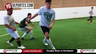 Douglas Boys vs. Zacatepec Liga Douglas