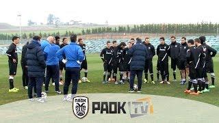 Προετοιμασία μετ' εμποδίων - PAOK TV
