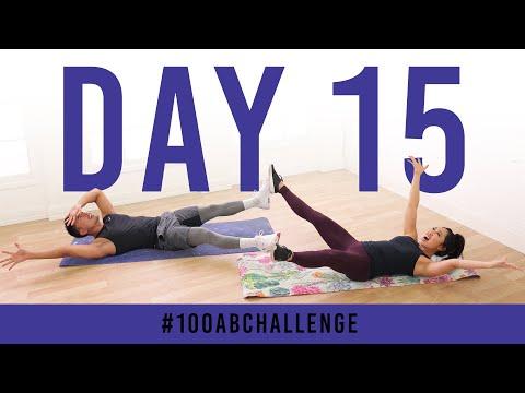 Day 15: 100 Star Abs!   #100AbChallenge w/ Kenta Seki