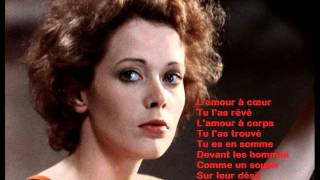 Pierre Bachelet -- Emmanuelle 1974  avec lyrics, Paroles
