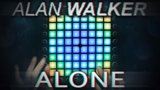 Alan Walker - Alone | Launchpad Pro Cover