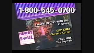 Heart and Soul of the Sixties Music Collection Ad (1993) (windowboxed)