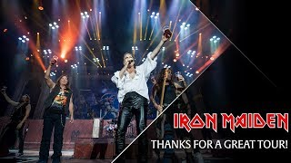 Iron Maiden - Thanks for a great tour