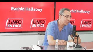 Jaafar Heikel dans l'Info en Face : il faut qu'on apprenne à vivre avec le Covid-19