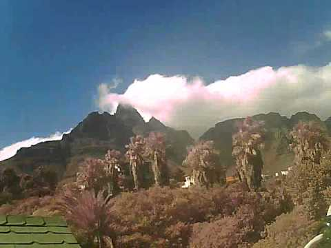 Timelapse Video – Table Mountain – 07/04/2011