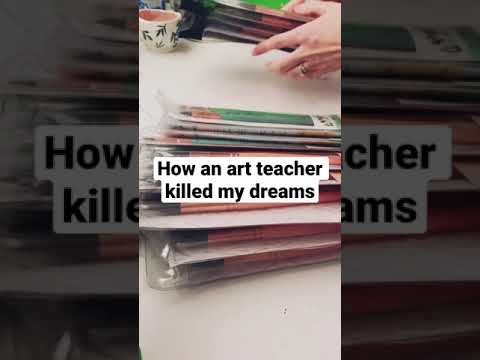 How An Art Teacher Killed My Dreams #shorts