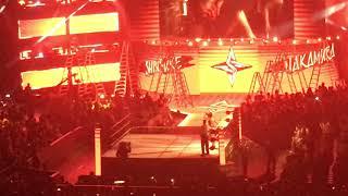 Shinsuke Nakamura and AJ Styles Entrances (WWE Money in the Bank – 6/17/18)