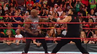Roman Reigns goes head-to-head with Bobby Lashley this Sunday