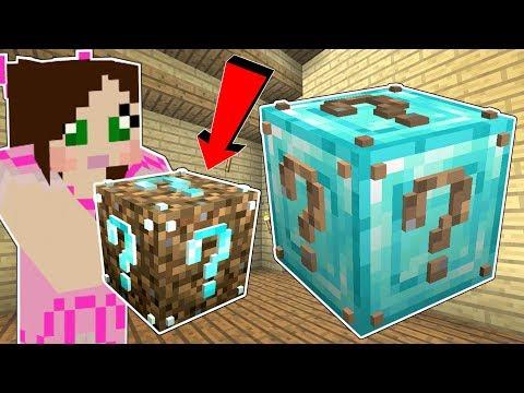 Minecraft: NOOB VS PRO LUCKY BLOCK!!! (DIAMOND APPLES, DIRT WEAPONS, & MORE!) Mod Showcase