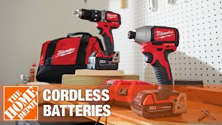 Cordless battery buying guide