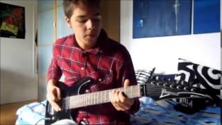 """Attila - """"Proving Grounds"""" Guitar COVER"""