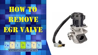 How to remove EGR valve from Ford Focus