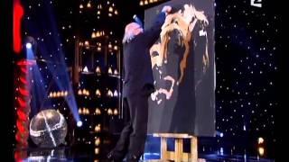 EL Gran Cabaret,Pintura  Luciano Pavaroti
