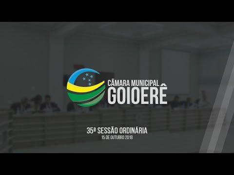 Vídeo na íntegra da sessão desta segunda-feira, 15, da Câmara Municipal de Goioerê