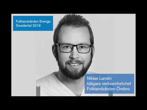 Folktandvårdenpodden – Olika karriärvägar inom tandvård. Gäst: Niklas Landin