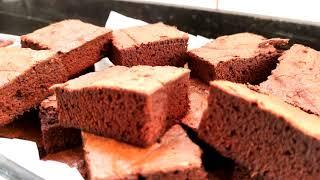 brownie delicioso para o faça e venda