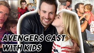 AVENGERS CAST ARE ADORABLE WITH KIDS   Funny Moments Part 2 Avengers: ENDGAME
