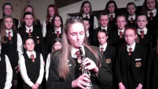 Oboe solo rehearsal for our Christmas carol service