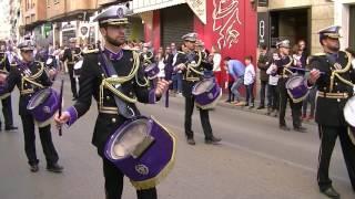 Domingo de Resurrección - Banda de Trompetas y Tambores de la JdC - Semana Santa Cuenca 2017