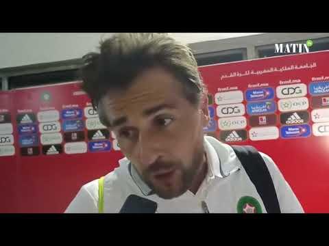 Video : Déclarations d'après match Maroc - Cameroun