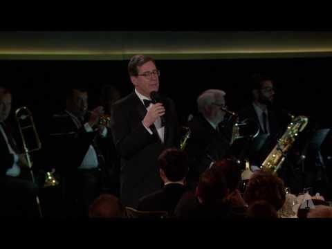 David Rubin honors Lynn Stalmaster at the 2016 Governors Awards