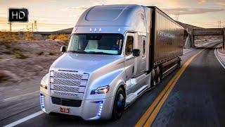 Freightliner Inspiration Self-driving Truck Exterior & Interior Design HD