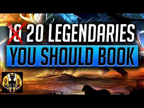 RAID: Shadow Legends | 20 LEGENDARIES WORTH YOUR BOOKS!