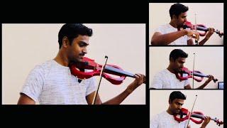 Kadhale Kadhale Song | 96 Tamil Movie | Violin Cover | Anjo Mani