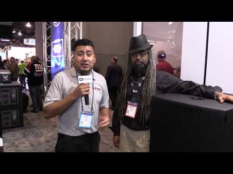 NAMM 2017 - I DJ Now - Henry with Darrin from DAS featuring the Vantec 218A