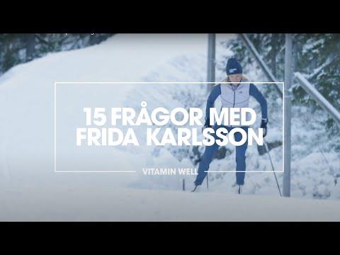 15 frågor med Vitamin Well-ambassadören Frida Karlsson