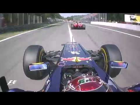 Vettel Battles Alonso At Monza | 2011 Italian Grand Prix
