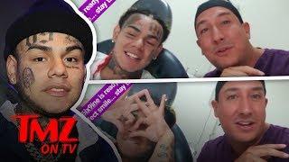 Tekashi69 Fixes Up His Face! | TMZ TV