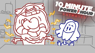 Game Grumps Ten Minute Power Hour ANIMATED by Macey James