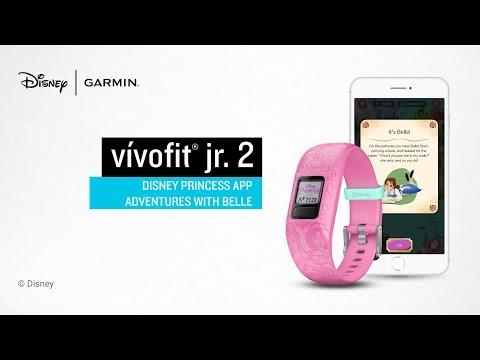 Garmin vívofit jr. 2 Disney Princess App Adventures with Belle