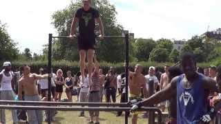 Street workout london primrose hill  park 2013