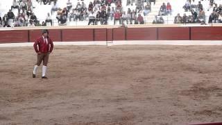 Forcados Amadores de Montijo (Corrida de Setúbal 14-10-2012) - Fábio Siquenique