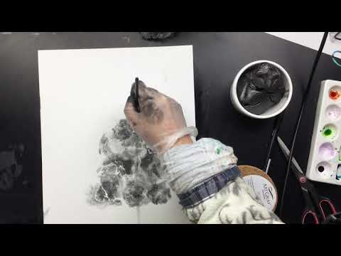 ( 802 ) Viarco ArtGraf's kneadable graphite putty