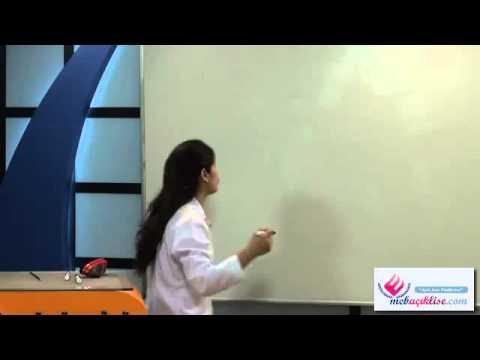 Açık Lise Kimya-2 Görüntülü Eğitim Seti Konu Anlatımı Demosu