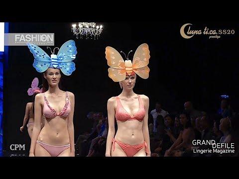 LUNA TI.CA. Prestige Cristals Swarovski GRAND DEFILE Lingerie SS 2020 CP Moscow - Fashion Channel