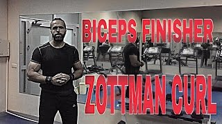 Biceps Finisher: Zottman Curl [ENG SUBS]