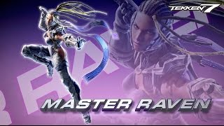 Tekken 7 – Master Raven Reveal Trailer   XB1, PS4, PC