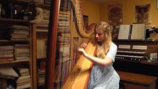 Selena Gomez -  Kill Em With Kindness (Harp Cover)