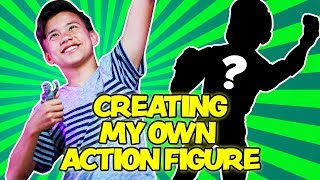 EVAN IS A TOY!!! Evan Creates His Own Action Figure Using a 3D PRINTER!